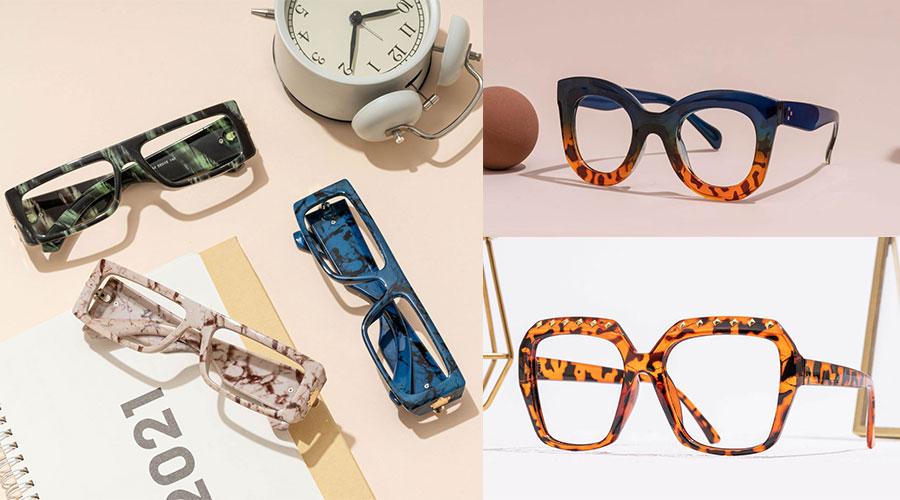 Rectangular Eyeglasses Frames for Heart Shaped Face