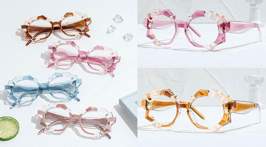 Oval Eyeglasses Frames for Heart Shaped Face