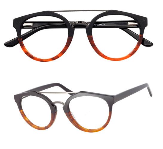 Wayfarer Eyeglasses Frames for Heart Shaped Face