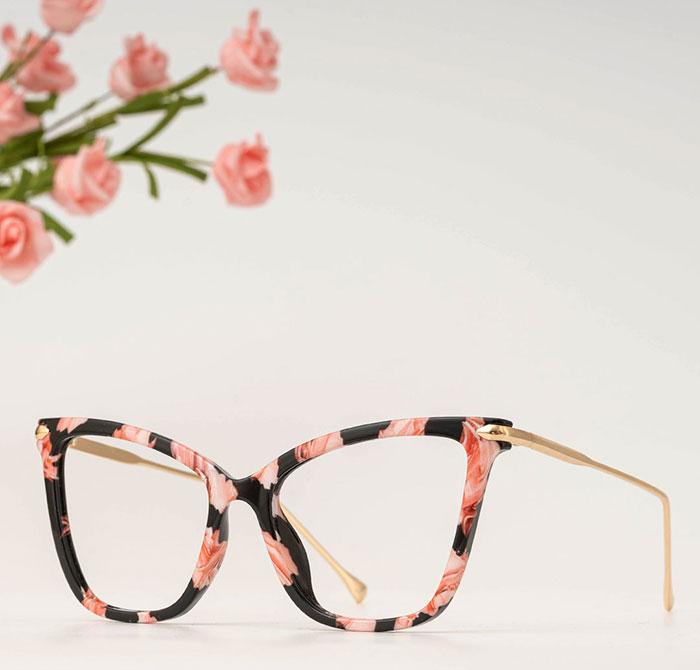 Floral Prescription Glasses