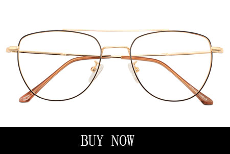 Black And Gold Clubmaster Eyeglasses