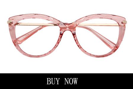 Clear pink eyeglasses