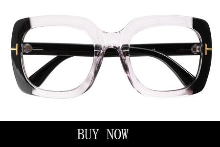 pink and black eyeglasses