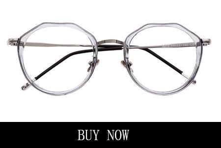 Women's Clear Round Eyeglasses