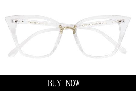 Women's Clear Cat Eyeglasses