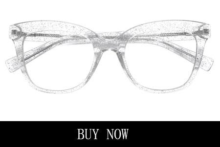 Bling Women's Clear Cat Eyeglasses