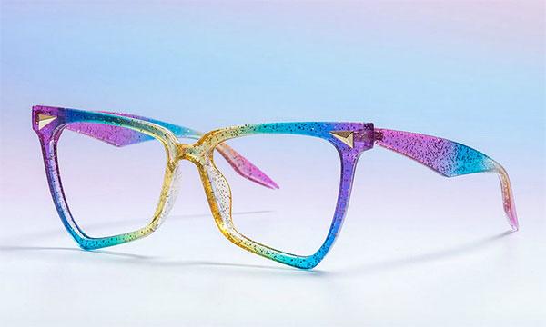 Rainbow Eyeglass Frames