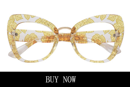 Yellow Glasses for Round Face Shape
