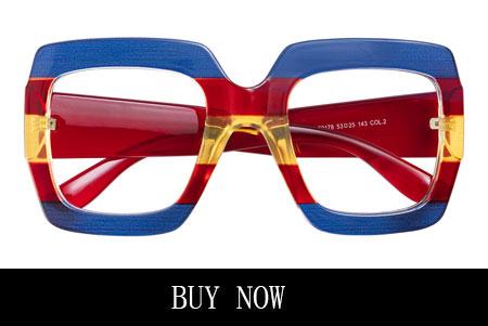 Red prescription glasses