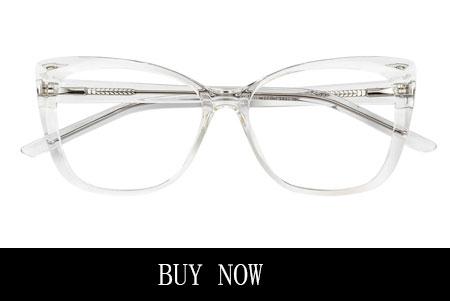 Clear Rectangle Glasses for Diamond Face Shape