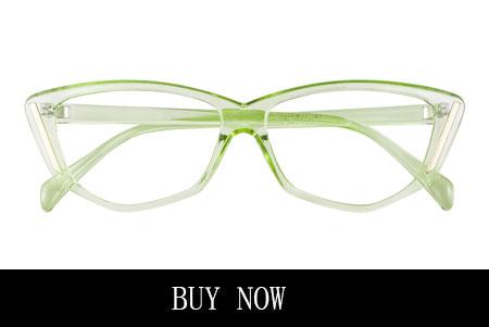 Crystal Green Eyeglasses Frames