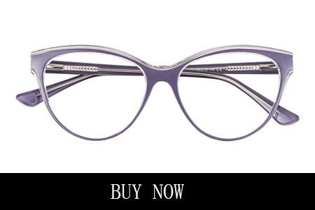 Purple Cat Eye Glasses Vintage Oversize