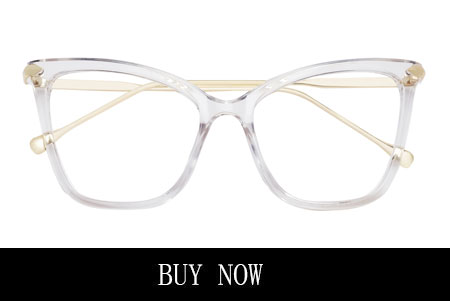 Oversized Clear Glasses