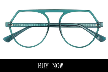 Green Women's Aviator Prescription Eyeglasses