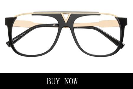 Black Men's Aviator Prescription Eyeglasses