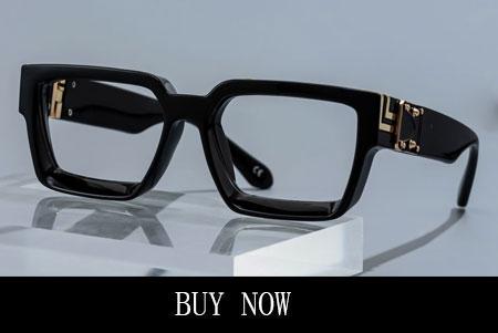 Thick Black Frames Glasses Rectangle