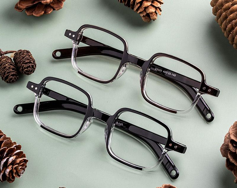 Rectangle Thin Glasses Frames