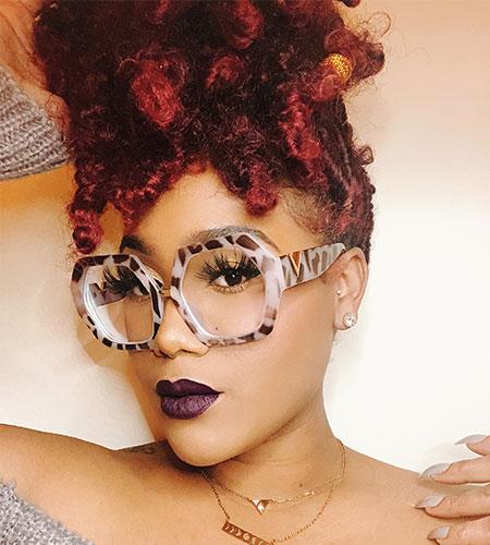 Womens Geometric Glasses Frames