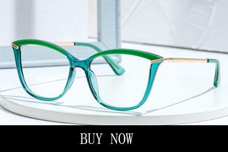 Teal Green Frame Glasses