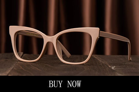 Brown Cat Eye Glasses