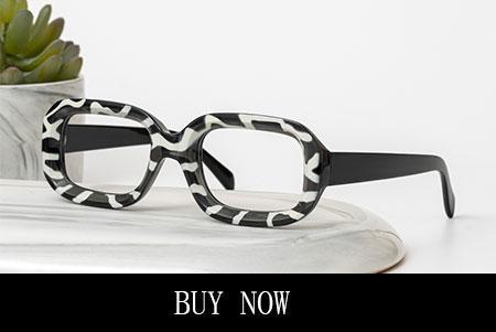 Striped Cat Eyes Glasses