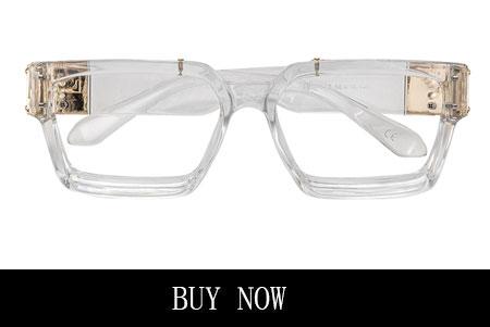 Unisex White Glasses