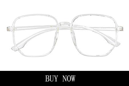 Square White Eyeglasses